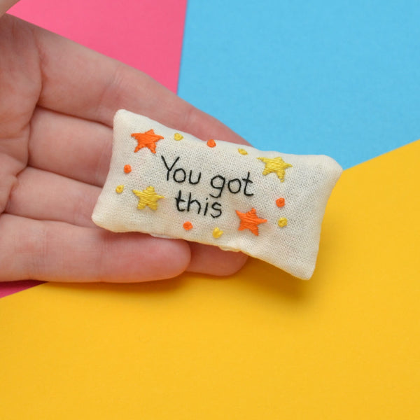 You Got This Pocket Calmer Made to Order