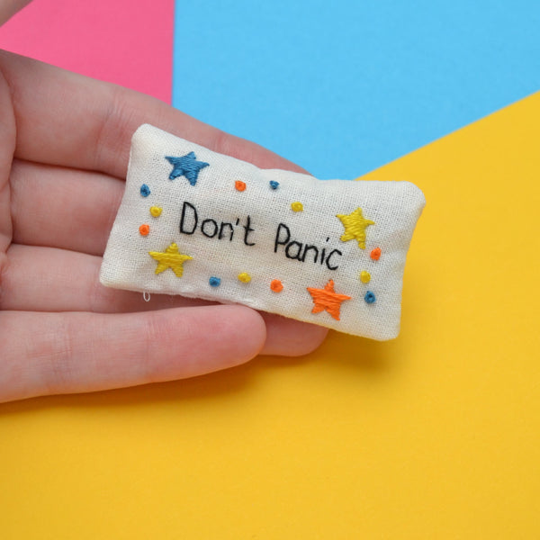 Don't Panic Pocket Calmer Made to Order
