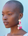 Dragon Fruit Statement Earrings