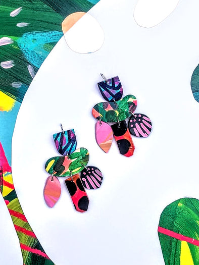 Tigerilla Statement Earrings