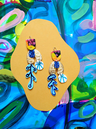 Neptunia-  Statement Earrings