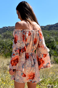 Sweet Divine Off The Shoulder Dress