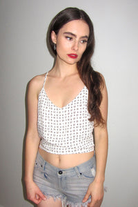 Almond Lace Top