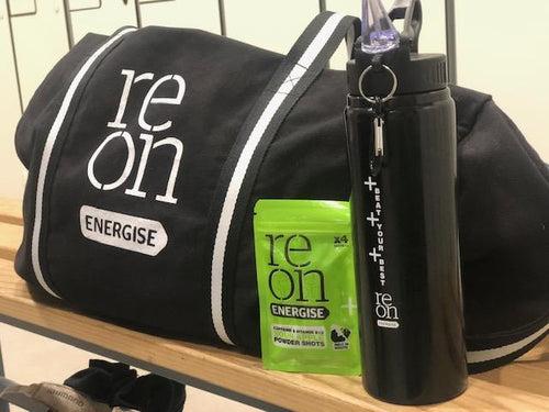 Reon energise sports bottle large with gym kit