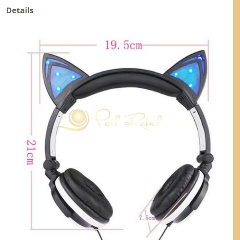 Cat Ear - Le Casque Audio - Lexpression - Le Son - Casque Audio Lumineux