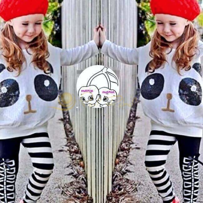 Enfant / Sequin Panda Leggins & Sweet Fille De 2Ans À 10Ans Panda Leggins Sweet Fille