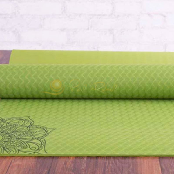 Pilates - Yoga & Fitness Mat - Sac Inclu - Amyoga 183/61/0 6 Vert Tapis Yoga/