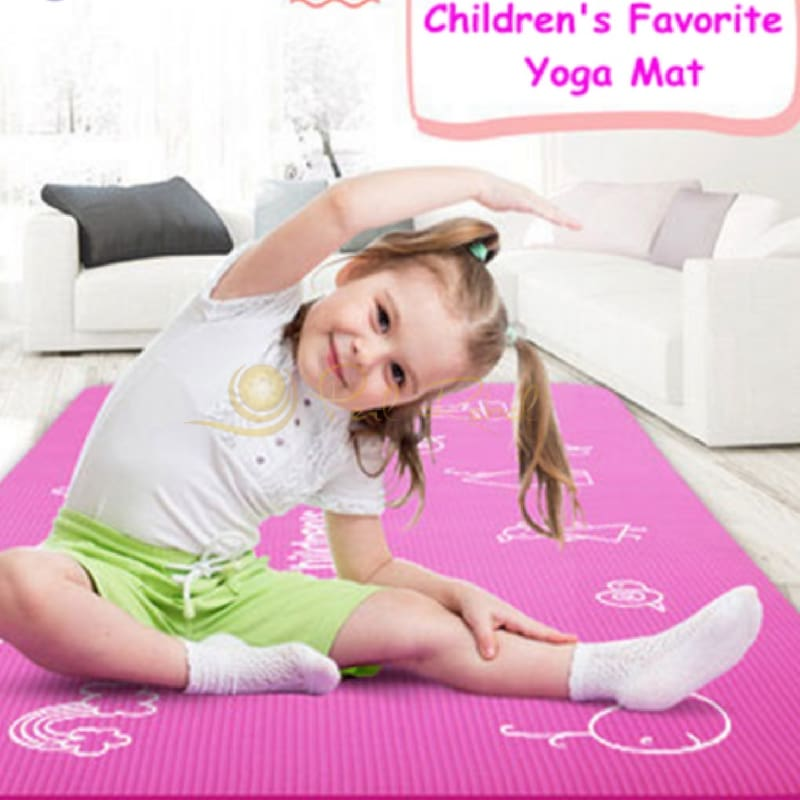 Pilates - Yoga - Mat - Enfant - 185 / 90 /0 10 Tapis