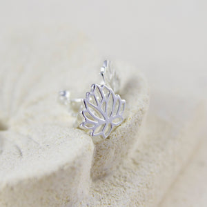 Lotus Stud Earrings