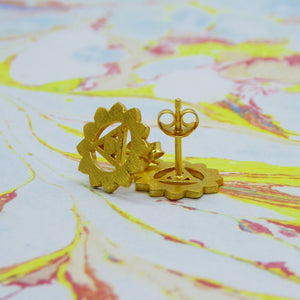 Third / Solar Plexus / Manipura ~ Chakra Stud Earrings
