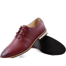 Mens Lace Up Casual Oxrord Shoes