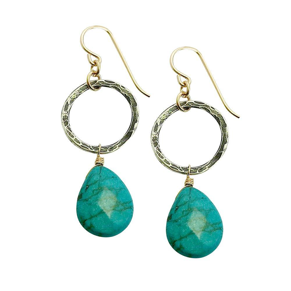 Stella Earrings in Turquoise