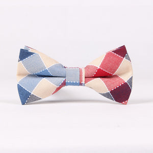 Pastel Plaid Bow Tie (3 Variations)