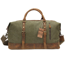 The Canvas Duffel Shoulder Bag (Large Capacity Weekender)