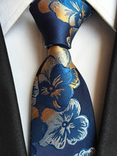 Floral Necktie Ties for Men