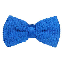 Knit Clip On Bow Tie with 10 Color Choices!