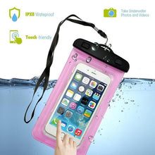 Waterproof Underwater Mobile Phone Bag Pouch For iPhone 7 6 6s plus 5 5s Samsung galaxy S7 S6 edge