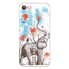 Phone Cases for iphone 5s 7 6 plus SE 5 6s Transparent Silicon (Various Design Choices)