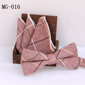 Cotton Bow Ties Set for Men