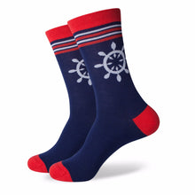 Cartoon Bicycle & Anchor Crew Sox  (5 Pack)