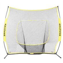 7 x 7ft Softball/Baseball Practice Net with Bow Frame & Compact Carrying Bag (Two Colors)