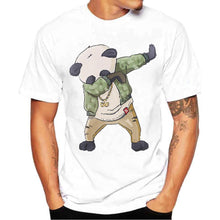 Panda Dabbing Short Sleeve Cotton Tee