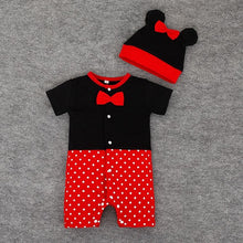 2pcs Set: Baby Rompers+Hat (Various Sizes and Animal Choices)