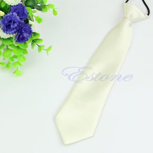 Solid Color Adjustable Child Neckties (Many Color Choices!)