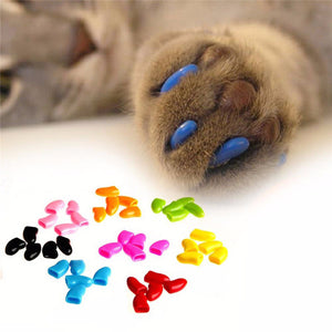 1 Pack Colorful, Soft Non-Toxic Protective Pet Claw Covers
