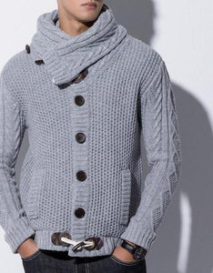 Button-Up Cardigan Sweater (Several Color Choices)