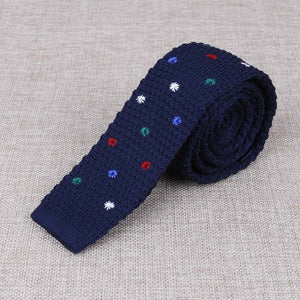 Knitted Ties Skinny Narrow Necktie