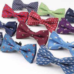 Polyester Bow Ties for Children (Various Design Choices w/Animlas, etc.)