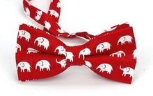 100% Cotton Adjustable Animal Printed Bow Ties (Various Design Choices!)