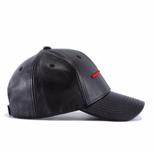 PU Leather Adjustable/Snapback Baseball Cap