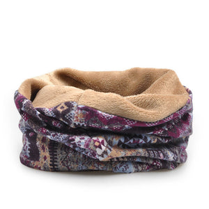 Baggy Velvet Multi-Function Scarf or Hat (Various Color Choices)