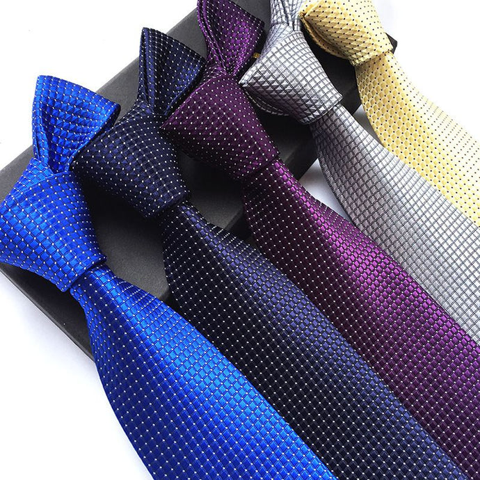 Silk Neck Ties (Various Color Options)