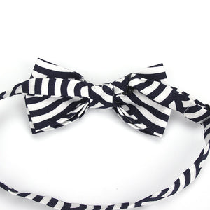 100% Cotton Vintage Anchor Print Bow Tie (Various Color Choices!)