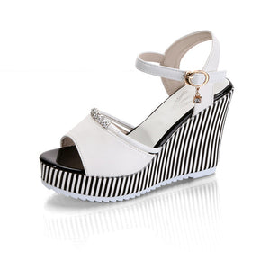 Platform Sandals /Open Toe Wedges  (Various Color Choices!)