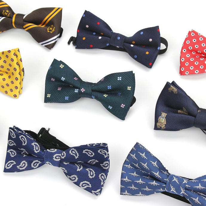 Children's Polyester Bow ties (Various Design & Color Choices!)