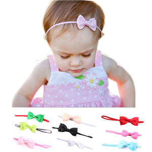Bow Knot Headband Baby Hair Accessories (Various Color Choices)