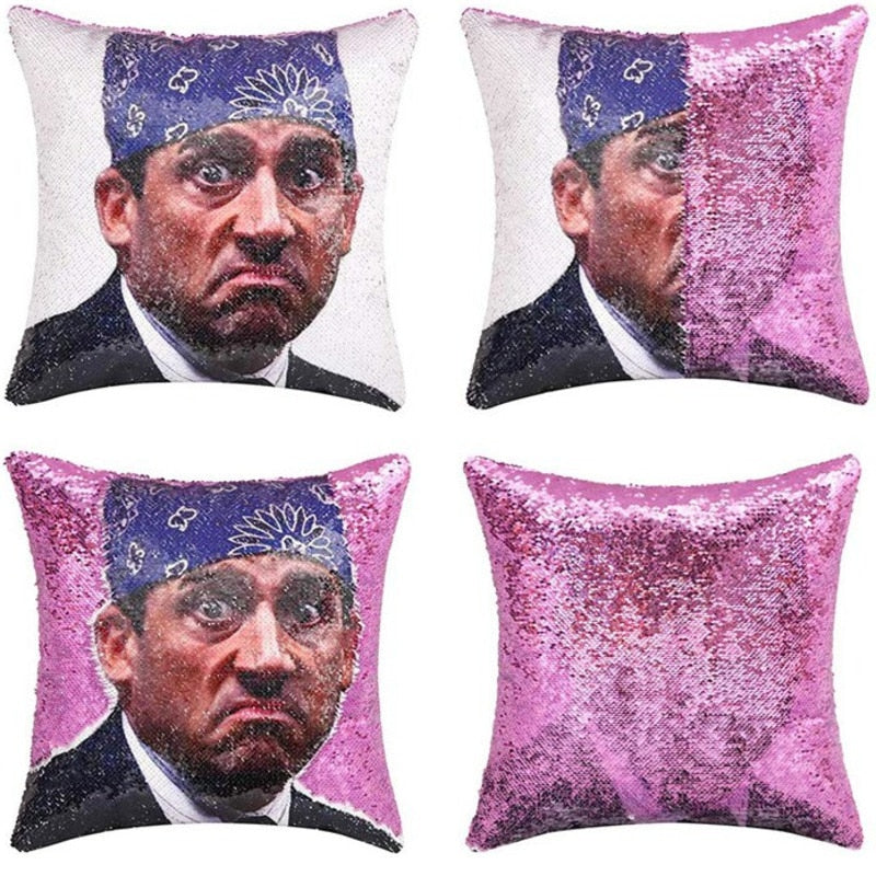 Office Mike Pillow Case