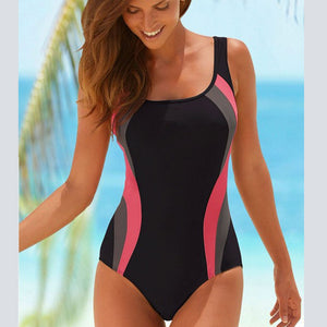 One Piece Retro Swimwear
