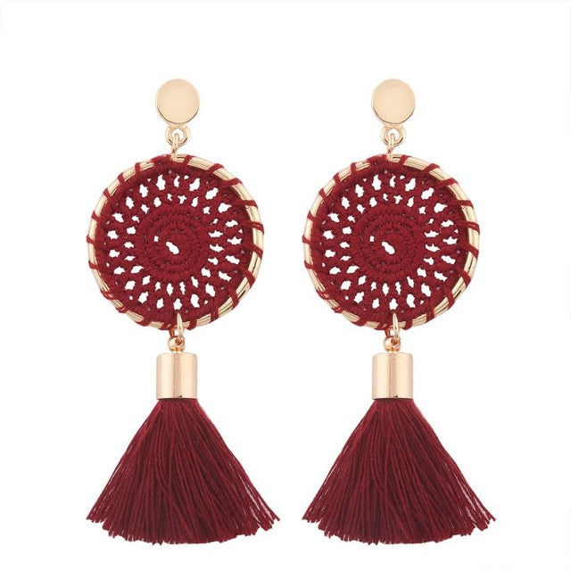 Boho Circular Earrings