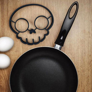 Silicone Egg Frying Skull