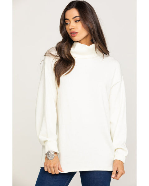 Fort Greene TurtleNeck Sweater - Winter White