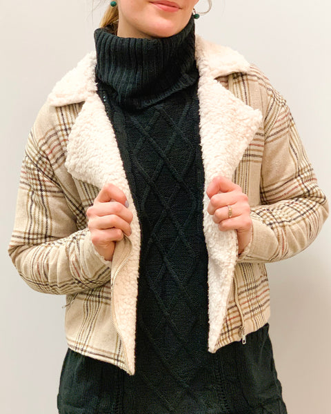 Plaid to be Here Jacket