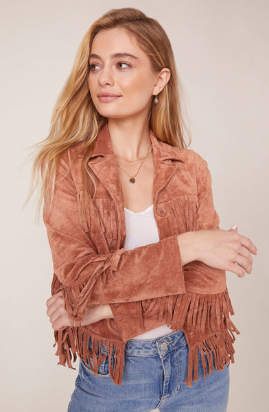 Loose Ends Fringe Jacket