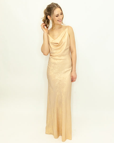Golden Goddess Formal