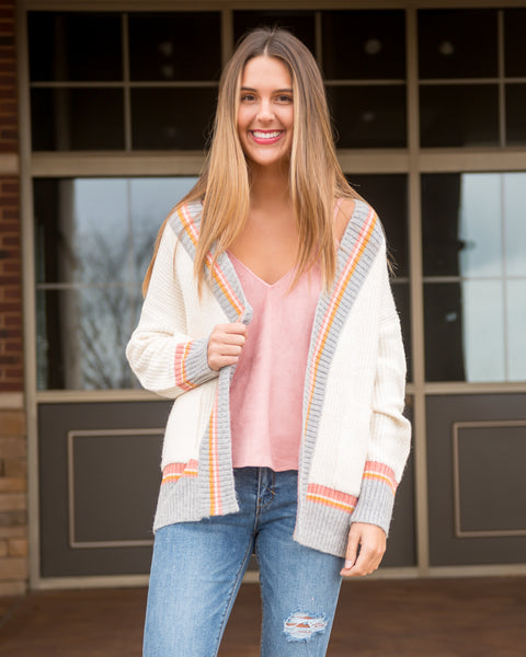 Pop of Color Cardigan
