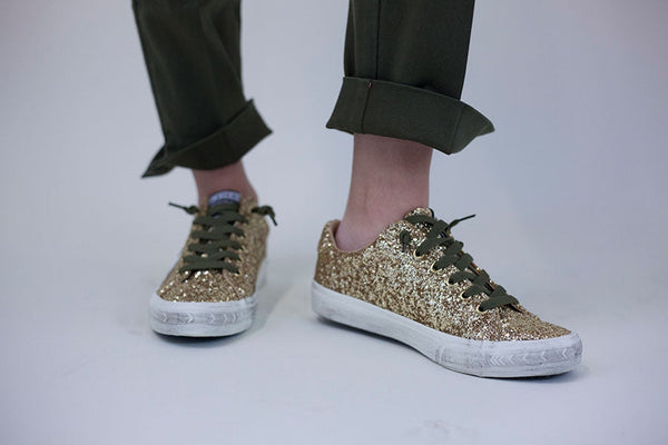 Go Gold Sneakers